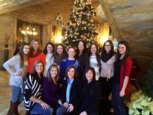 For a few years the day after Thanksgiving all of the girl cousins and aunts would go down to Newport Rhode Island to tour the mansions and get dinner. I always really enjoyed it because all of the cousins were at such different points in their lives - KiKi in New York, I was in DC, Kimba in college, Colleen in high school, Cambria in California and Shannon and Kate in middle school and yet we all always had a really great time, laughing until we cried playing headbands. I miss it, and I think about and miss Kate everyday, but I'm really thankful to have these memories with her and the other strong supportive women in our family. I'll always cherish these days after Thanksgiving. Love, Kayla and the girl cousins