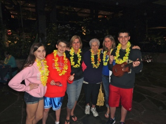 Love your mom, Liam, Nana, Auntie Gayle and Johnny