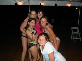 Love Auntie Ellen, Deanna, Megan and Molly